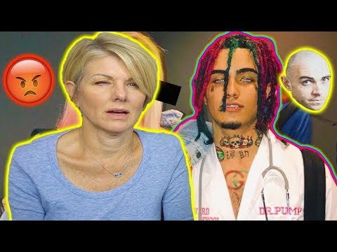 Mom REACTS to Lil Pump: A Day In The Life & LIVE FOOTAGE! (Adam22 Vlog)