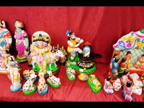 Navarathri Golu Dolls At Poompuhar Chennai