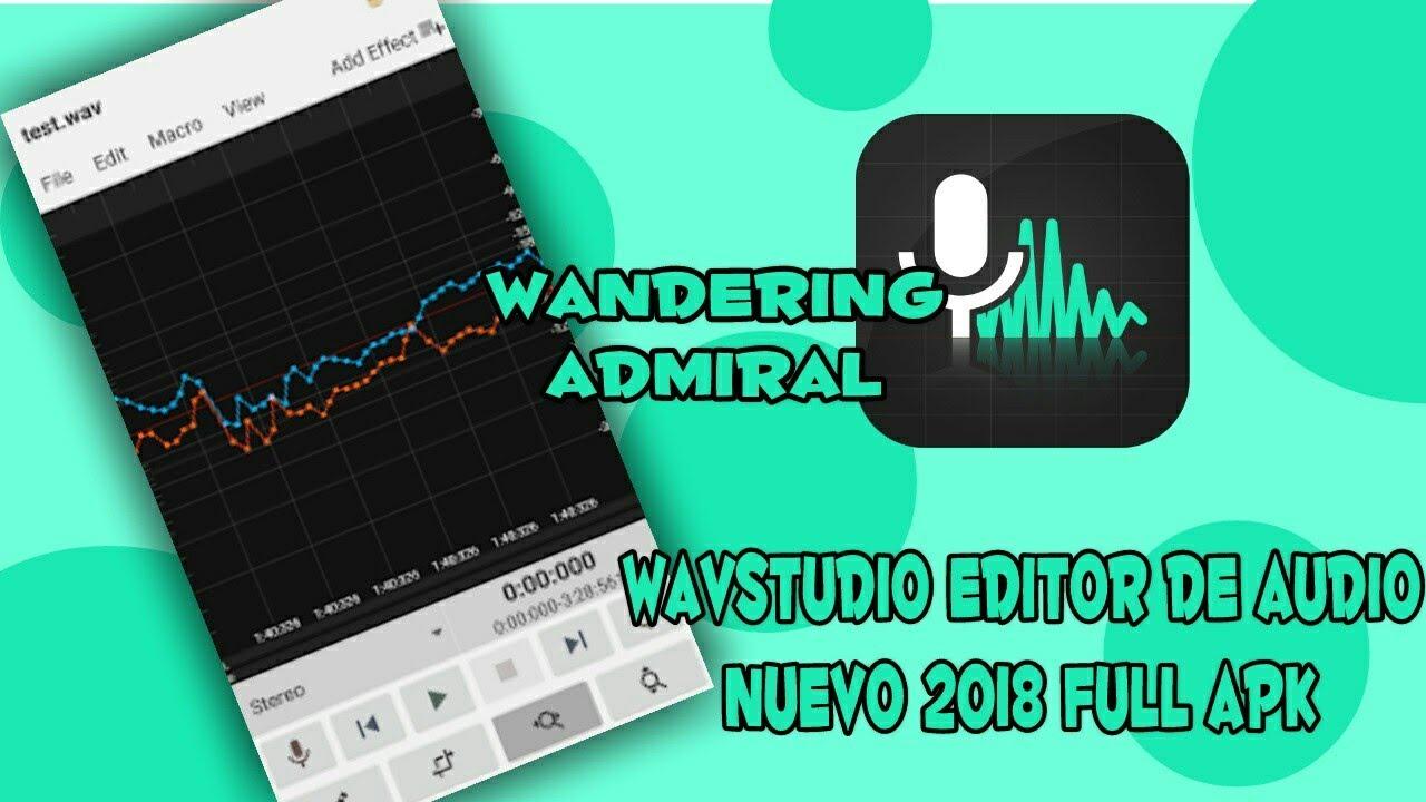 WavStudio Nuevo Editor de Audio full apk 2018