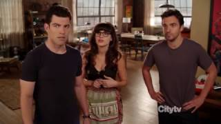 New Girl: Nick & Jess 2x02 #1 (Nick: Jess, what is this?!)