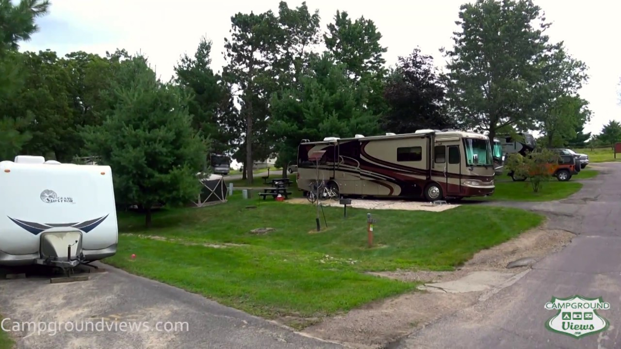 Camping with full hookups wisconsin dells
