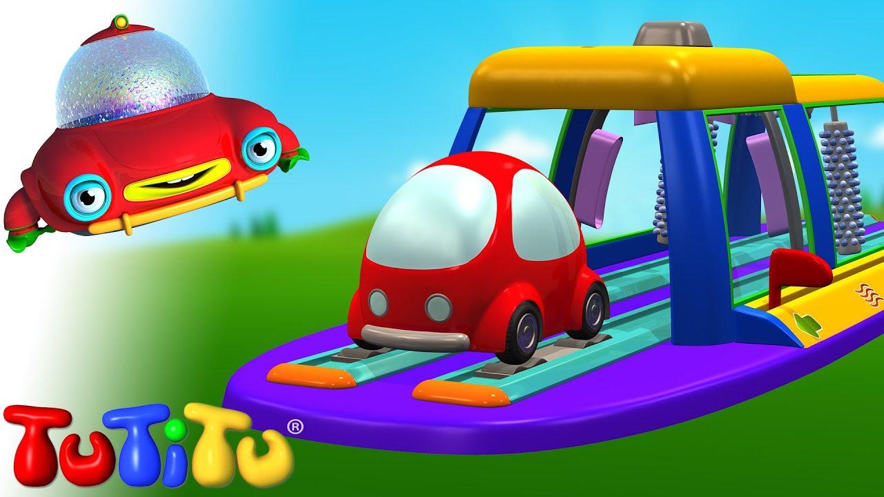 Lavagem de carros   Aprenda a construir brinquedos com o TuTiTu