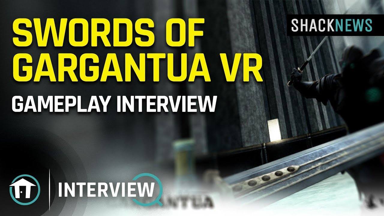 Interview - Sword of Gargantua dev on visceral combat in VR   Shacknews
