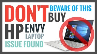 HP Envy 13 Review - Don 39 t Buy
