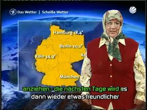Wetterfrau