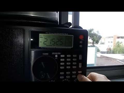 21525 KHz 13m PAB Radio Africa de Okeechobee na Flórida, em inglês para a África
