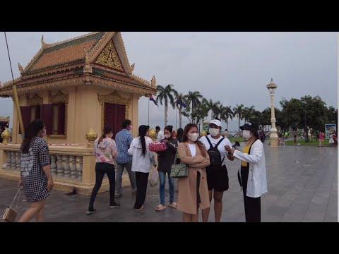 Cambodia Pchum Ben Day festival walking tour 2021