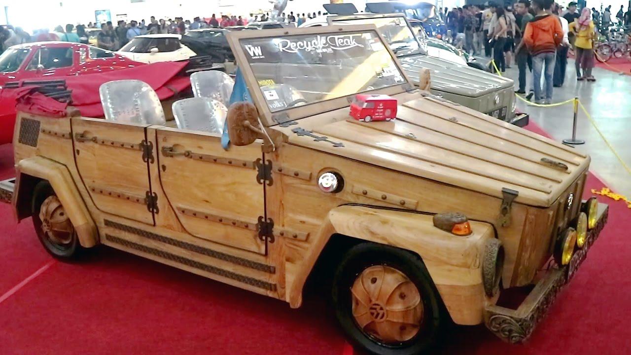 Mobil Terbuat Dari KAYU Buatan Orang Indonesia Mesin Volkswagen