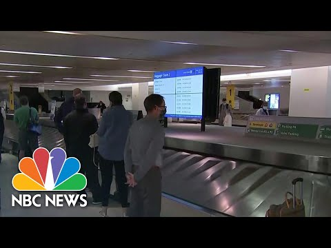 Airline Safety Concerns Ahead Of Biden's D.C. Inauguration | NBC News NOW