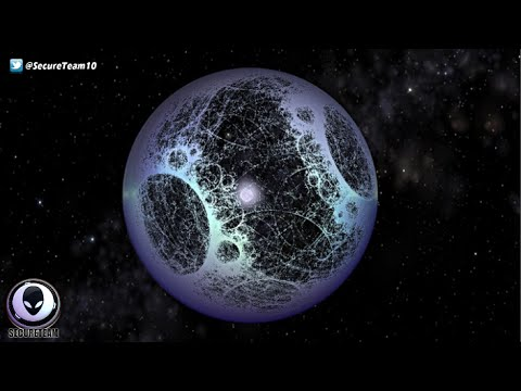 Giant ALIEN Megastructure In Space Surrounding Star! 10/20/2015