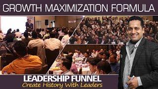GROWTH MAXIMIZATION FORMULA   LEADERSHIP FUNNEL   DR VIVEK BINDRA