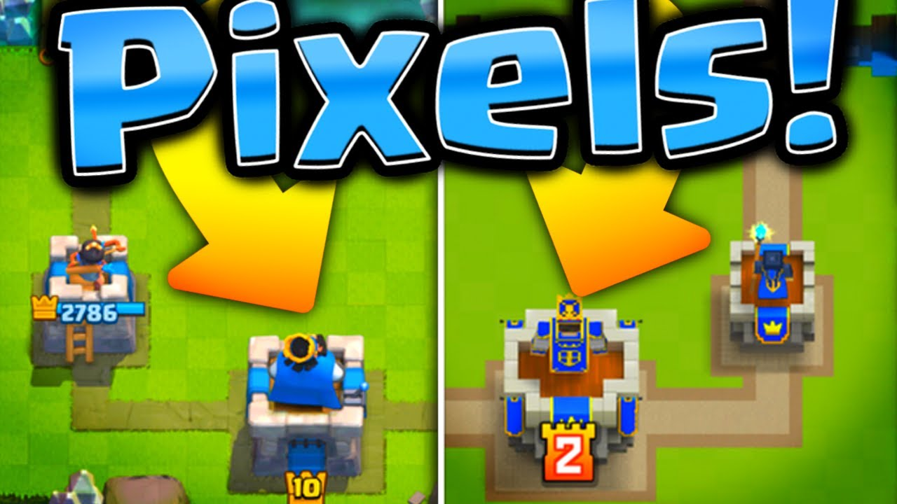 CLASH ROYALE IN PIXELS?   How To