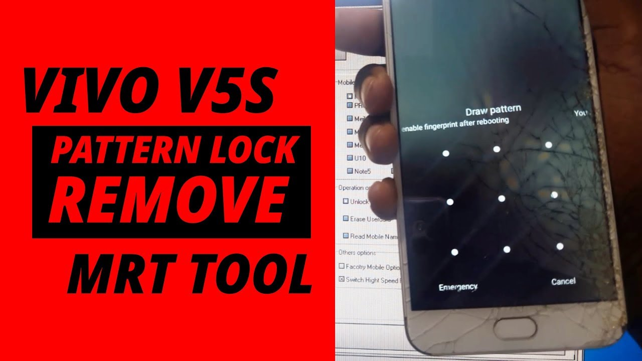 Vivo V5s Pattern Lock & Frp Lock Remove MRT Key