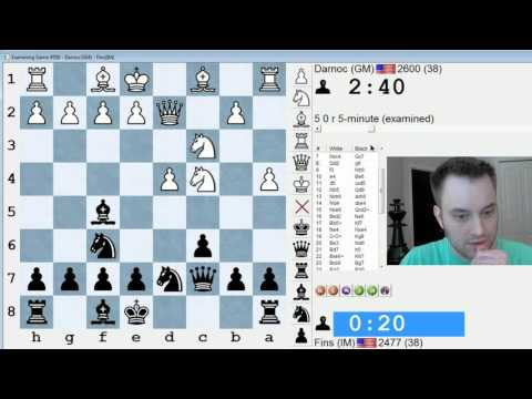 Blitz Chess #425: GM Conrad Holt vs. IM Bartholomew (Slav Defense)