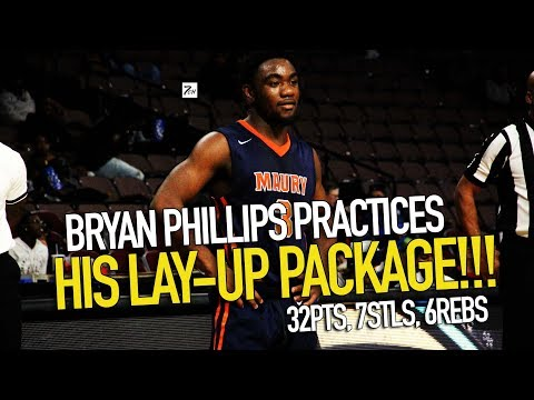 Bryan Phillips LAY-UP PACKAGE gets him 32PTS!!!