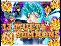 515 STONES SUMMON! DBZ Dokkan Battle Super Saiyan Blue Vegito Dokkan Fest  (JP)