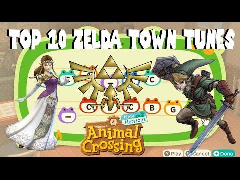 Top 10 ZELDA Town Tunes for Animal Crossing New Horizons