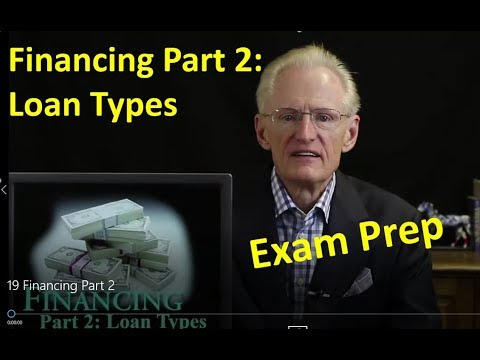 19 Financing Part 2: Arizona Real Estate License Exam Prep