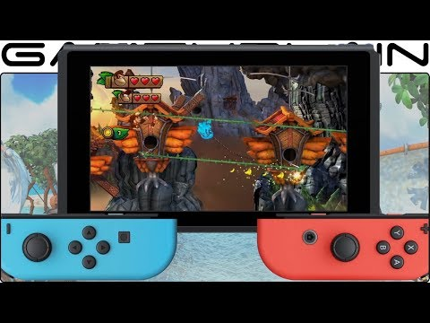 Donkey Kong Country: Tropical Freeze - Overview Trailer (Nintendo Switch - JP)