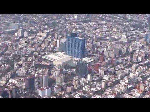 Aterrizaje en Ciudad de México