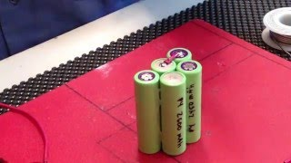 DIY Lithium Battery Pack using 18650 cells