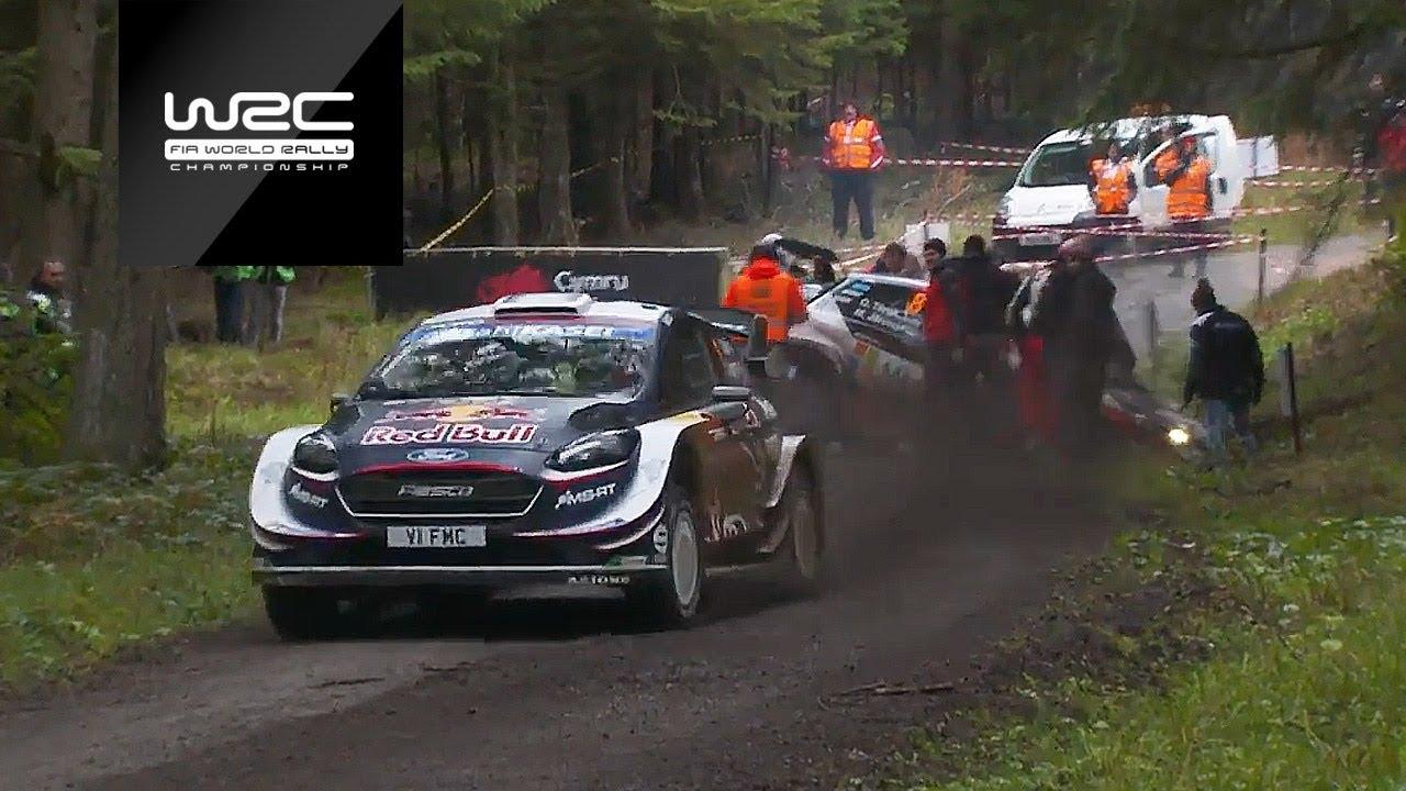 WRC - Dayinsure Wales Rally GB 2018: Shakedown Highlights