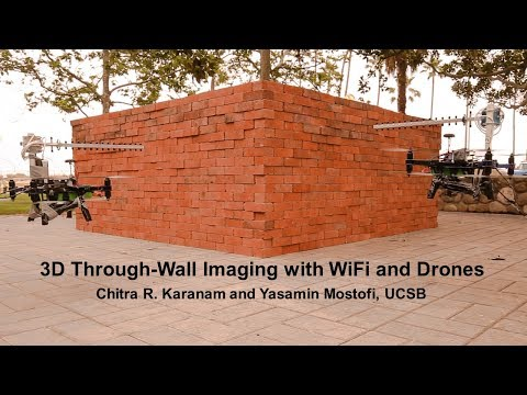 X-ray Eyes in the Sky: Drones and WiFi for 3D Through-Wall Imaging