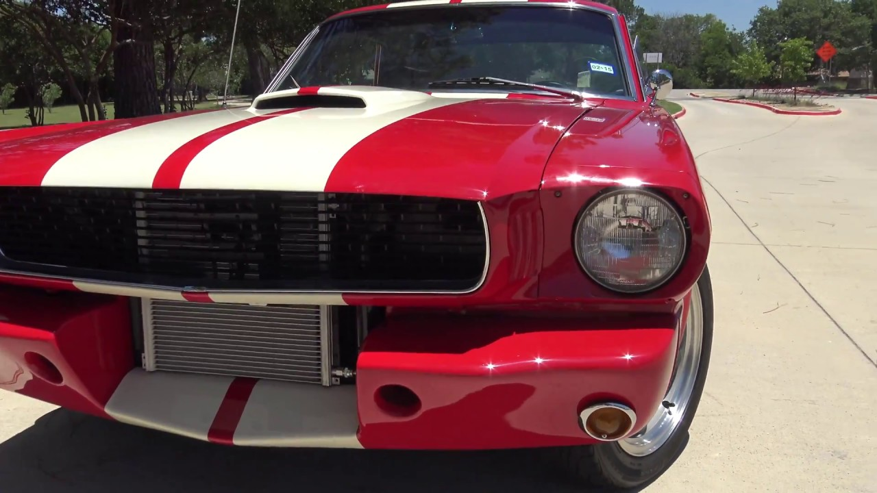 Customized Mustang >> 1966 Ford Mustang Custom Coupe Road Test & Tour - YouTube