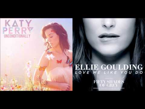 Katy Perry vs Ellie Goulding - Love Me Unconditionally (Mashup)