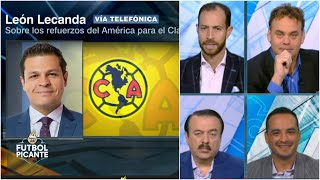 Después de Cáceres, AMÉRICA apunta a otro REFUERZO URUGUAYO. Lecanda con lo último | Futbol Picante