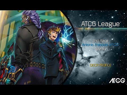 2nd Place   Yugioh ATCG League    Spyrals   November 2017   December 2017   Antonis Traboulsi