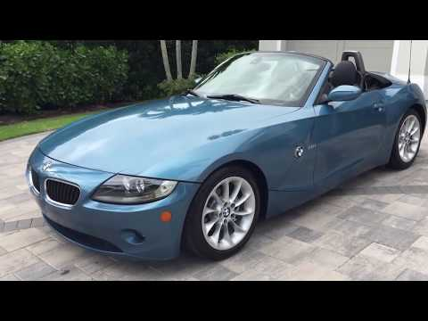 2005 BMW Z4 2.5i Roadster Review and Test Drive by Bill - Auto Europa Naples MercedesExpert com