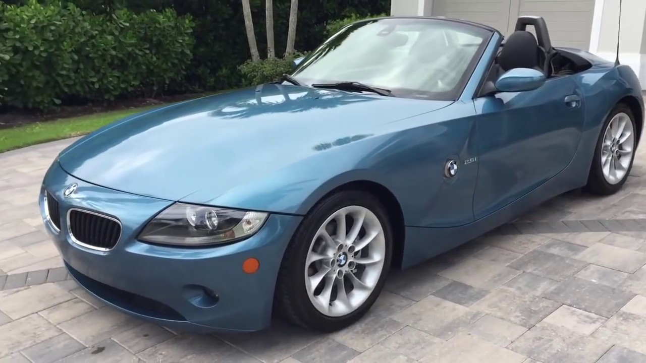 2005 Bmw Z4 2 5i Roadster Review And Test Drive By Bill