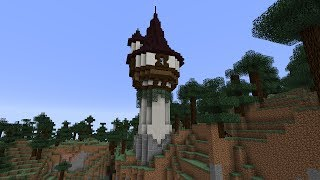 Minecraft Tutorial - Wizard tower
