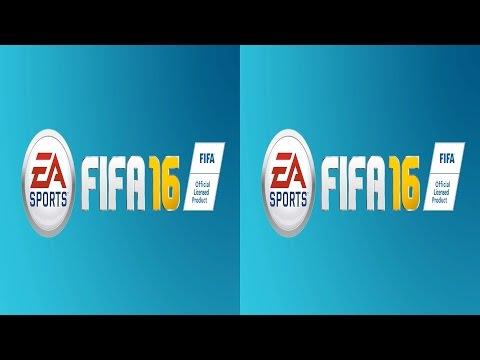 FIFA 16 3D TV VR box video Side by Side SBS