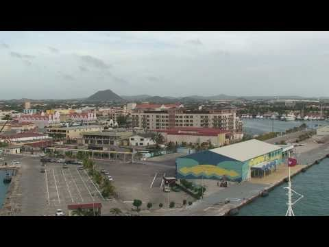 """Disney Wonder"", first visit to Aruba on January 9-10, 2011 ends with an enthusiastic send-off"