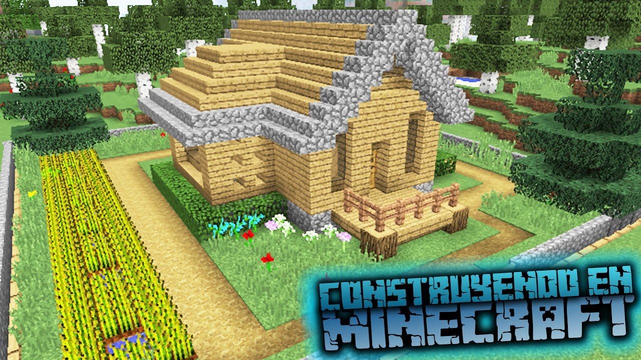 Como hacer una casa de campo en minecraft para survival for Como construir una casa de campo
