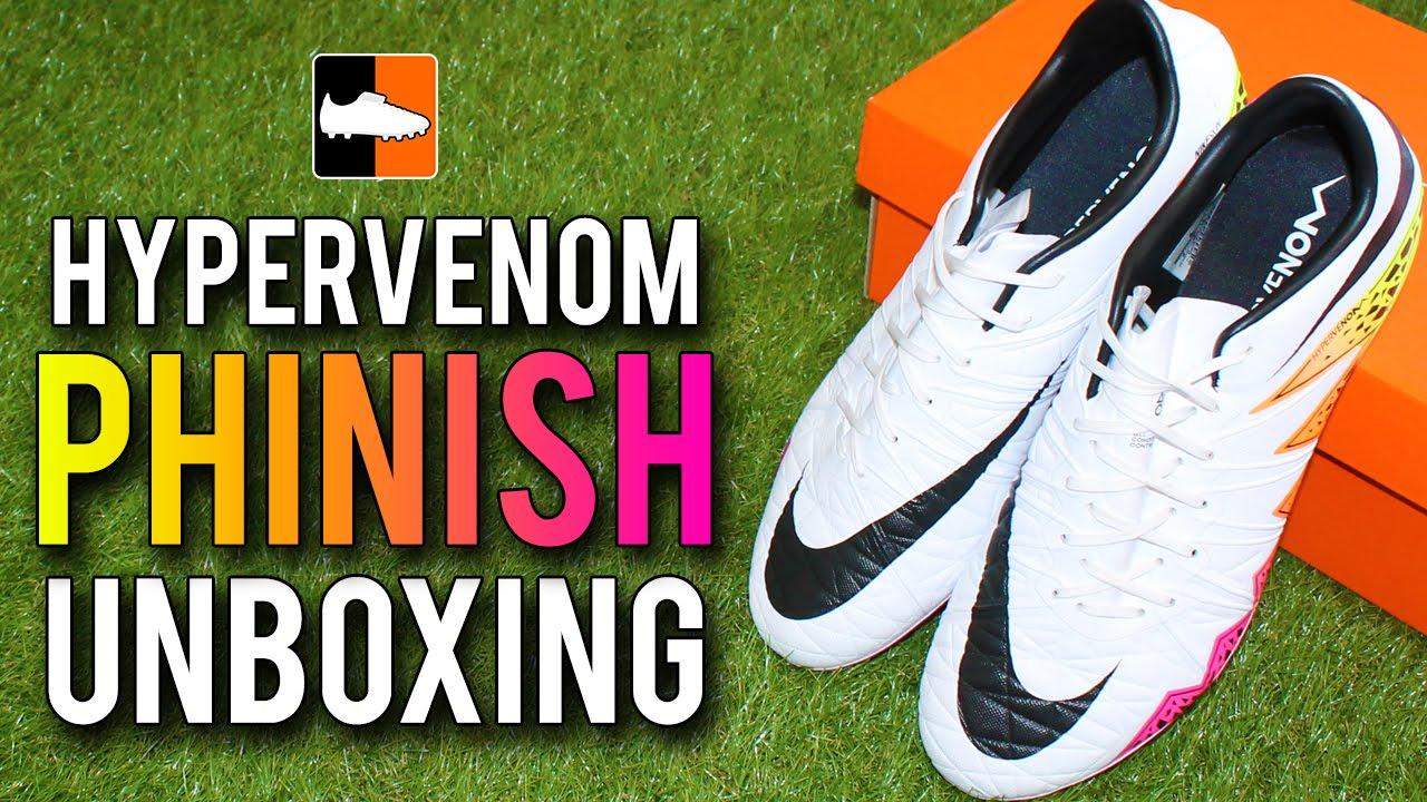 b5ea5621e71ad0 Hypervenom Phinish Radiant Reveal Nike Unboxing