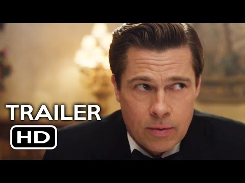 Allied Official Teaser Trailer #2 (2016) Brad Pitt, Marion Cotillard Action Drama Movie HD