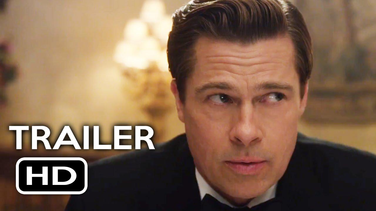 Download Allied Official Teaser Trailer #2 (2016) Brad Pitt, Marion Cotillard Action Drama Movie HD