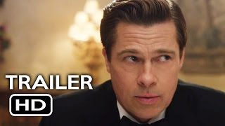 allied official teaser trailer 2 2016 brad pitt marion cotillard action drama movie hd