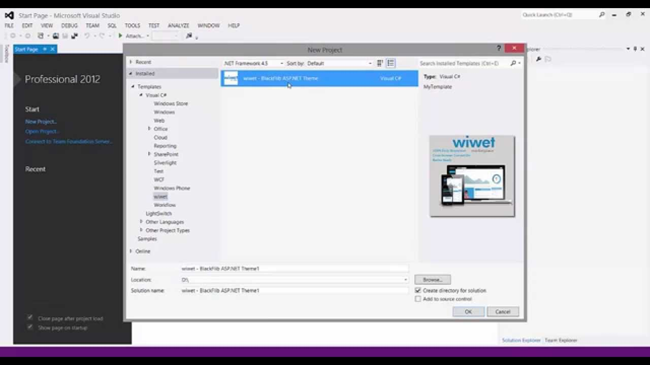 Asp net template tutorial wiwet asp net web app in for Aspx net templates