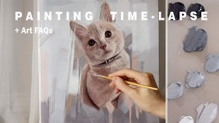 In this video I will be answering some art-related questions for be...