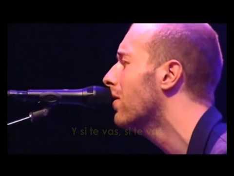 Coldplay - In My Place Acoustic (Subtitulado en Español)