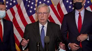 'Not leaving here witнout a COVID package,' Mitch McConnell says