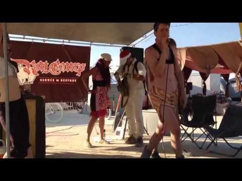 Britney Spears - karaoke at burning man