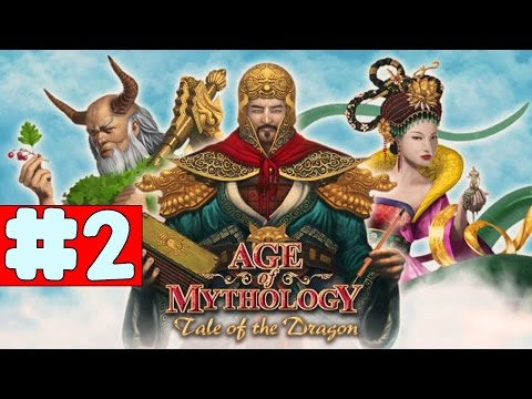 Age of Mythology EX: Tale of the Dragon - Walkthrough - Part 2 - To the West (PC HD) [1080p60FPS]
