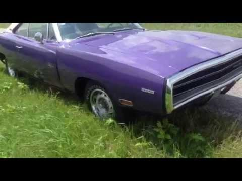 1970 dodge charger rt hemi plum crazy reduced price stock 19704261clch for sale youtube. Black Bedroom Furniture Sets. Home Design Ideas