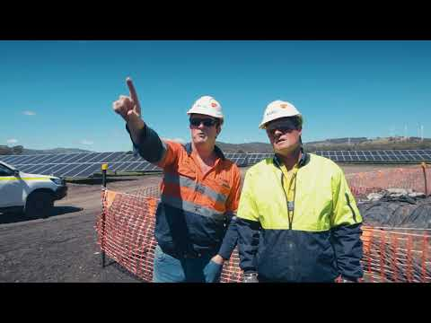 HOCHTIEF: White Rock Solar Farm Australien (deutsche Version