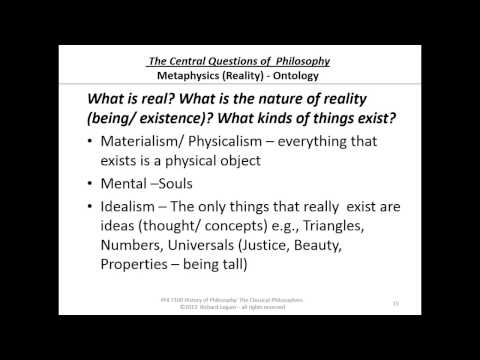 01-0-15 Metaphysics - Ontology